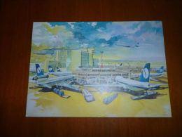 BP1-10-1 Bruxelles Zaventem Airport Sabena Boeing - Bruxelles National - Aéroport