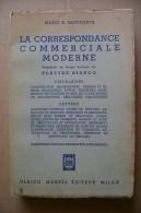 PCQ/45 Santagata CORRESPONDANCE COMMERCIALE Hoepli 1963/letters - Economia