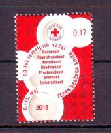 Slovenia 2015 Y Red Cross Charity Stamp 7 Principles MNH - Slovénie