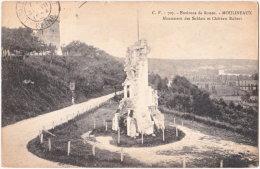 76. MOULINEAUX. Monument Des Soldats Et Château Robert. 707 - Sonstige Gemeinden