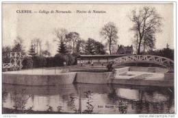 Cleres College De Normandie Picine De Natation Cpa Bon état - Clères
