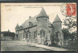 CPA - MERCIN - Ancien Château Aujourd'hui Converti En école, Animé - Other Municipalities