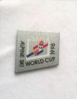 Pin´s ALTA BADIA ALPINE SKI WOLD CUP 1998 -P217 - Sport Invernali
