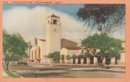 Carte Vers 1920 UNION STATION , LOS ANGELES - Los Angeles
