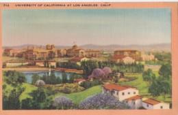 Carte Vers 1920 UNIVERSITY OF CALIFORNIA AT LOS ANGELES - Los Angeles