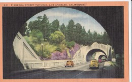 Carte Vers 1920 FIGUEROA STREET TUNNELS , LOS ANGELES , CALIFORNIA - Los Angeles