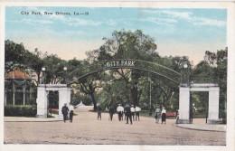 Carte Vers 1920 City Park , New Orleans - New Orleans