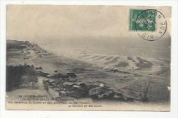 33 - CAP-FERRET - VUE GENERALE DES QUARTIERS -  LE BOCQUE ET BÉLISAIRE - 1910 - VERSO - Frankreich