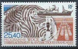 TAAF Neuf  N° 170 De 1992 Programme WOCE - Unused Stamps