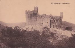 Alemania--Ruines De Falkenburg--1925--Mayence-a, Francia - Castillos