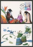 EUROPA CEPT 2010 - FDC MAXIMUM CARD - ACORES - MADEIRA PORTUGAL - LIBRI PER RAGAZZI  008 - Europa-CEPT