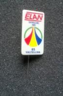 Pin´s ELAN  Official Ski Valtellina '85 -P222 - Sport Invernali