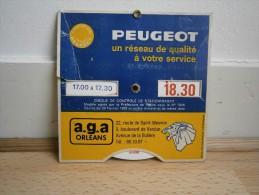 DISQUE DE STATIONNEMENT PEUGEOT - Altri