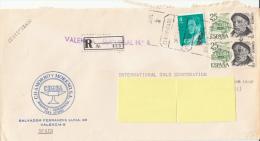 Registered Mail Certificado Suiza (Suisse, Geneva, International Gold Corporation, Joyeros) - Airmail