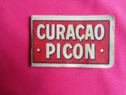 Bloc Publicitaire Curacao Picon.. - Alcools
