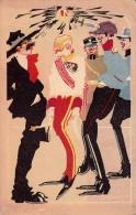 PROPAGANDE De GUERRE 1914 - 1918 : EMPIRE PASSÉ / SMASHED EMPIRE - ART DÉCO - SIGNED : IVO TIJARDOVIC (s-187) - Croazia