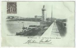 13 - MARSEILLE - Le Phare Sainte-Marie - Lacour 79 - 1901 - Joliette, Zone Portuaire