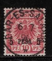 DOA, Nr. 3 C, Zentrisch Gestempelt, Geprüft, Bothe BPP, Mi. 35.- , # 1714 - Kolonie: Duits Oost-Afrika