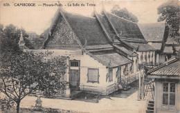 ¤¤   -  1626   -   CAMBODGE    -  Phnom-Penh   -  La Salle Du Trône    -  ¤¤ - Cambodia