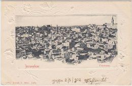 25266g JERUSALEM - Panorama - 1902 - Joseph A. Mitri Editeur - Israel