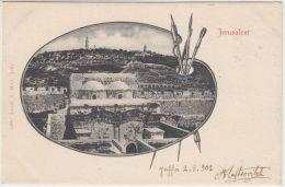 25267g JERUSALEM - Panorama - 1902 - Joseph A. Mitri Editeur - Israel