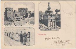 25268g JERUSALEM - Panorama - 1902 - Joseph A. Mitri Editeur - Israel