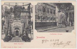 25269g JERUSALEM - Saint Sépulcre - Cathédrale Greque - 1902 - Joseph A. Mitri Editeur - Israel