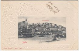 25275g JAFFA - Panorama -  1902 - Joseph A. Mitri  Editeur - Israel