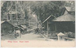25279g BAYAN LEPAS - Village Scene - Malaysia