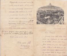 Institut Du Sacré-Coeur, 1910- Lettre D´une Fille à Ses Parents, Dimanche, Jour De Sortie... - Mededelingen