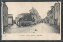 - CPA 46 - Cahors, Rues Du Rempart Et De Labarre - Cahors