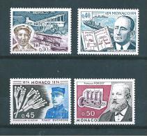Monaco Timbre De 1974  N° 959 A 962  Neuf **  Parfait - Unused Stamps