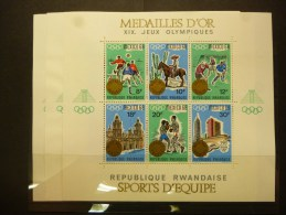 REP.RWANDA BLOC 13/15 Xx ( COB ) COTE : 70 EURO ( G ) - Rwanda