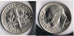 EE.UU.  USA  DIME  DOLLAR  D 1986 - 1946-...: Roosevelt