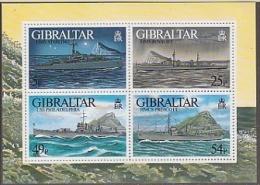 Gibraltar 1996 War Ships M/s ** Mnh (F3536) - Gibilterra