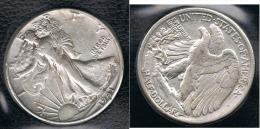 EE.UU.  USA HALF DOLLAR  1941  PLATA SILVER. B1 - EDICIONES FEDERALES