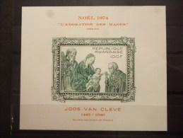 REP.RWANDA BLOC 43   Xx ( COB ) COTE : 17 EURO ( G ) - 1970-79: Mint/hinged