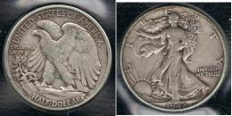 EE.UU.  USA HALF DOLLAR  1942 PLATA SILVER - EDICIONES FEDERALES