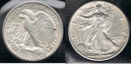 EE.UU.  USA HALF DOLLAR  1942 S PLATA SILVER - EDICIONES FEDERALES