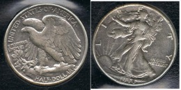 EE.UU.  USA HALF DOLLAR  1944 PLATA SILVER. - EDICIONES FEDERALES
