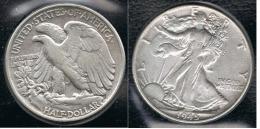 EE.UU.  USA HALF DOLLAR  1945 PLATA SILVER. - EDICIONES FEDERALES