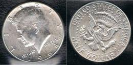 EE.UU.  USA HALF DOLLAR  1964 KENNEDY PLATA SILVER. - Federal Issues