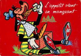 Walt Disney - Disneyworld - Dingo - Velours - Feutrine - Ets Carrière, Perpignan - Diffusé Par E. Sepheriades - état - Disneyworld