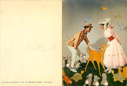 Walt Disney - Disneyworld - Mary Poppins - Carte Double - 2 Volets - état - Disneyworld