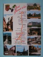 V08-21-côte D'or-dijon-pommard-chagny-meursault-marsannay-gevry-vougeot-vosne.-nuits.-beaune-carte Geo- - Dijon