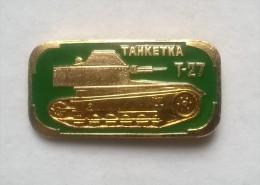 Pin´s Militare, Carro Armato  T27  -P232 - Militari