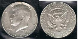 EE.UU.  USA HALF DOLLAR  1966 KENNEDY PLATA SILVER..B1 - 1964-…: Kennedy
