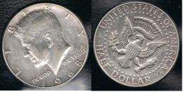 EE.UU.  USA HALF DOLLAR  1968 D KENNEDY PLATA SILVER. B2 - 1964-…: Kennedy