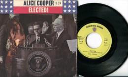 """Alice Cooper""""45t Vinyle""""Elected"""" - Hard Rock & Metal"""