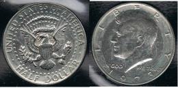 EE.UU.  USA HALF DOLLAR  1973 KENNEDY PLATA SILVER. - 1964-…: Kennedy